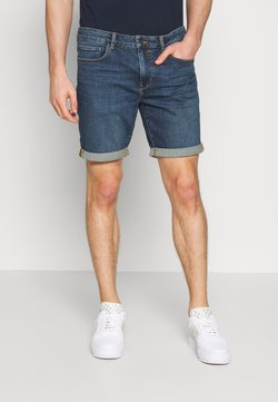 Solid - REGULAR RYDER - Jeansshort - blue denim