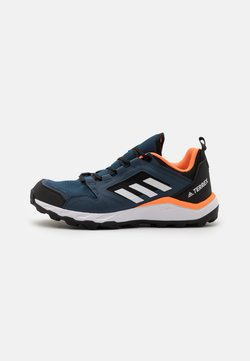adidas Performance - TERREX AGRAVIC - Laufschuh Trail - crew navy/footwear white/hazy blue