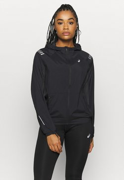 ASICS - LITE SHOW JACKET - Laufjacke - performance black/graphite grey