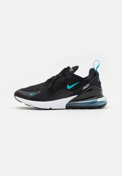 Nike Sportswear - AIR MAX 270 - Sneakers laag - black/light blue fury/dark smoke grey/white