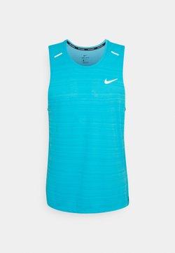 Nike Performance - MILER TANK - Funktionströja - chlorine blue