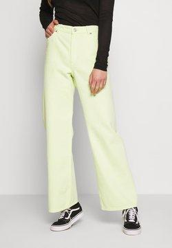 Monki - YOKO - Straight leg jeans - yellow bright v4
