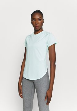 Under Armour - SPORT HI LO  - T-Shirt basic - seaglass blue