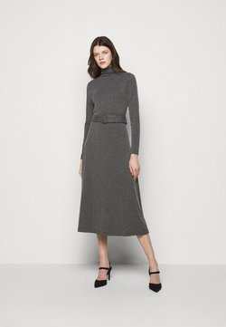 Club Monaco - MELISSAH DRESS - Neulemekko - charcoal heather
