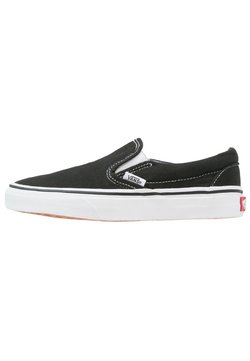 Vans - CLASSIC SLIP-ON - Loaferit/pistokkaat - black