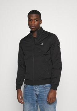 Calvin Klein Jeans - ZIP UP HARRINGTON - Blouson Bomber - black
