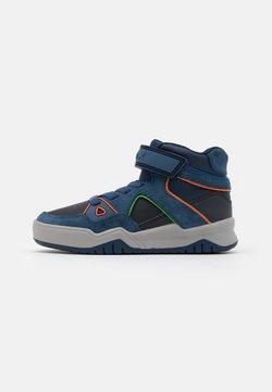 Geox - PERTH BOY - Sneakers hoog - navy/avio