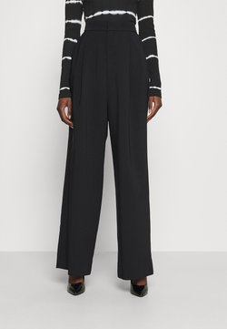 Custommade - PINJA - Pantalon classique - anthracite/black
