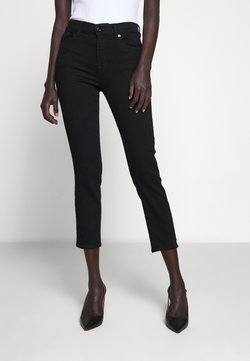 7 for all mankind - ROXANNE ANKLE - Slim fit jeans - black