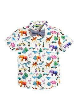 Next - SHORT SLEEVE ANIMAL PRINT - Camisa - white