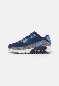 Nike Sportswear - AIR MAX 90 UNISEX - Sneakersy niskie - midnight navy/game royal/royal pulse/white