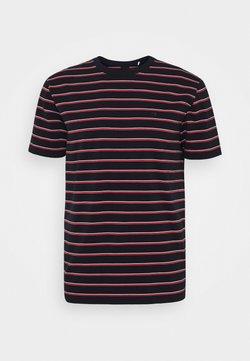 Scotch & Soda - T-Shirt print - dark blue/red/white