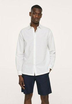 Mango - SEERSUCKER RESPIRANTE - Koszula biznesowa - blanc