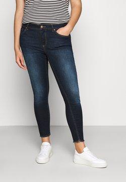 ONLY Carmakoma - CARWILLY LIFE - Jeans Skinny Fit - dark blue denim