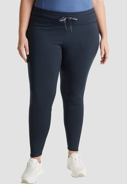 Esprit Sports - MIT LOGO - Tights - navy