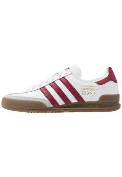 adidas Originals - JEANS - Sneakers - footwear white/collegiate burgundy