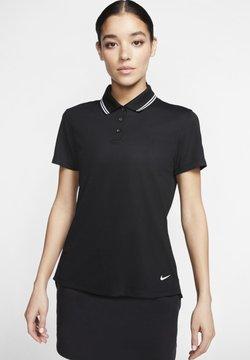 Nike Golf - DRY VICTORY - Funktionsshirt - black/white