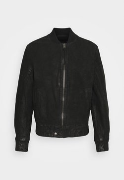 Tigha - FUDO - Leren jas - black