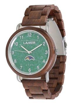 LAIMER - LAIMER QUARZ HOLZUHR - ANALOGE ARMBANDUHR GOETZ - Uhr - brown