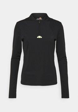 Ellesse - PULETTI 1/2 ZIP - Langarmshirt - black