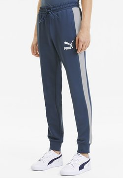 Puma - PUMA ICONIC T7 KNITTED MEN'S TRACK PANTS MALE - Jogginghose - dark denim