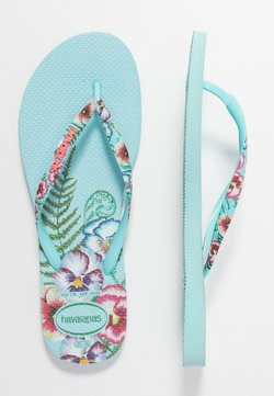 Havaianas - SLIM FIT SENSATION - Teenslippers - ice blue