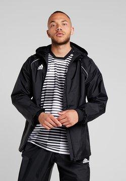 adidas Performance - CORE ELEVEN FOOTBALL JACKET - Hardshelljacke - black/white