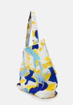 STUDIO ID - PRINT UNISEX - Shoppingväska - multicoloured/blue/orange