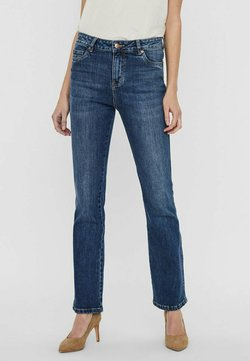 Vero Moda - Flared Jeans - medium blue denim