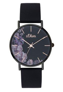 s.Oliver - Uhr - black