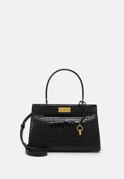 Tory Burch - LEE RADZIWILL EMBOSSED SMALL BAG - Handtasche - black