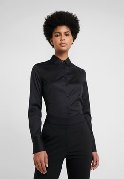 HUGO - THE FITTED - Camicia - black