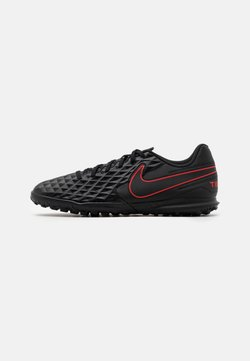 Nike Performance - TIEMPO LEGEND 8 CLUB TF - Fußballschuh Multinocken - black/dark smoke grey/chile red