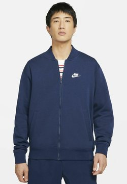 Nike Sportswear - M NSW CLUB - Felpa aperta - midnight navy/midnight navy/midnight navy/white