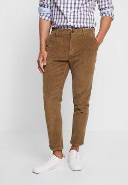 Lindbergh - CROPPED PANTS - Pantalon classique - sand