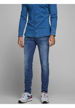 Jack & Jones - JEANS GLENN ROCK BL 894 LID - Slim fit jeans - blue denim