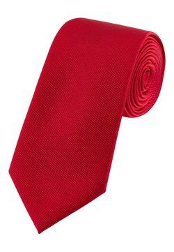 Next - BURGUNDY WIDE  - Krawatte - red
