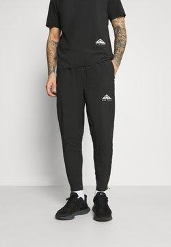 Nike Performance - ELITE PANT TRAIL - Pantalon de survêtement - black/white