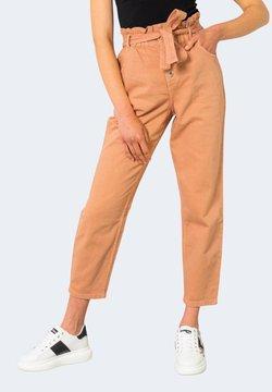 ONLY - ONLOVA LIFE - Jeans baggy - beige