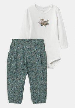 Name it - NBFODA BABY SET - T-shirts print - bright white