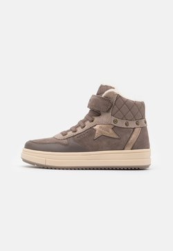 Geox - REBECCA GIRL WPF - Sneakers hoog - smoke grey