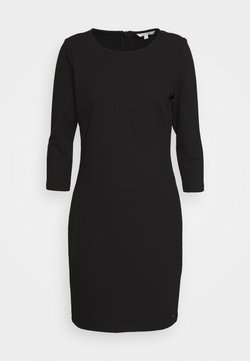 TOM TAILOR DENIM - STRUCTURED DRESS - Cocktailkleid/festliches Kleid - deep black