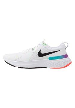 Nike Performance - REACT MILER - Obuwie do biegania treningowe - white/black/vapor green/hyper jade