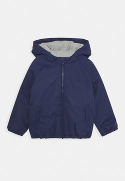 Guess - TODDLER HOODED JACKET ZIPPER - Chaqueta de invierno - bluish
