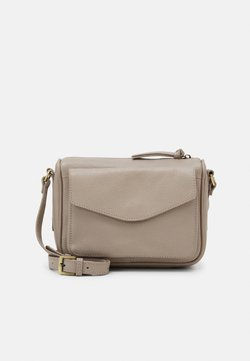 Zign - LEATHER - Umhängetasche - taupe