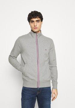 Tommy Hilfiger - CORE ZIP THROUGH - veste en sweat zippée - grey
