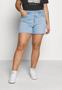 Levi's® Plus - PL 501® ORIGINAL SHORT - Jeansshort - light-blue denim