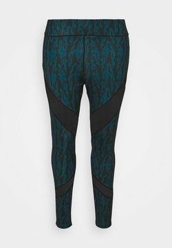 Even&Odd active - Tights - black/teal