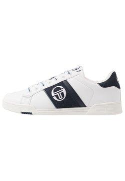 sergio tacchini - PARIGI LTX+SD - Sneaker low - white/navy