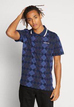 adidas Originals - ARGYLE - Polo - dark blue